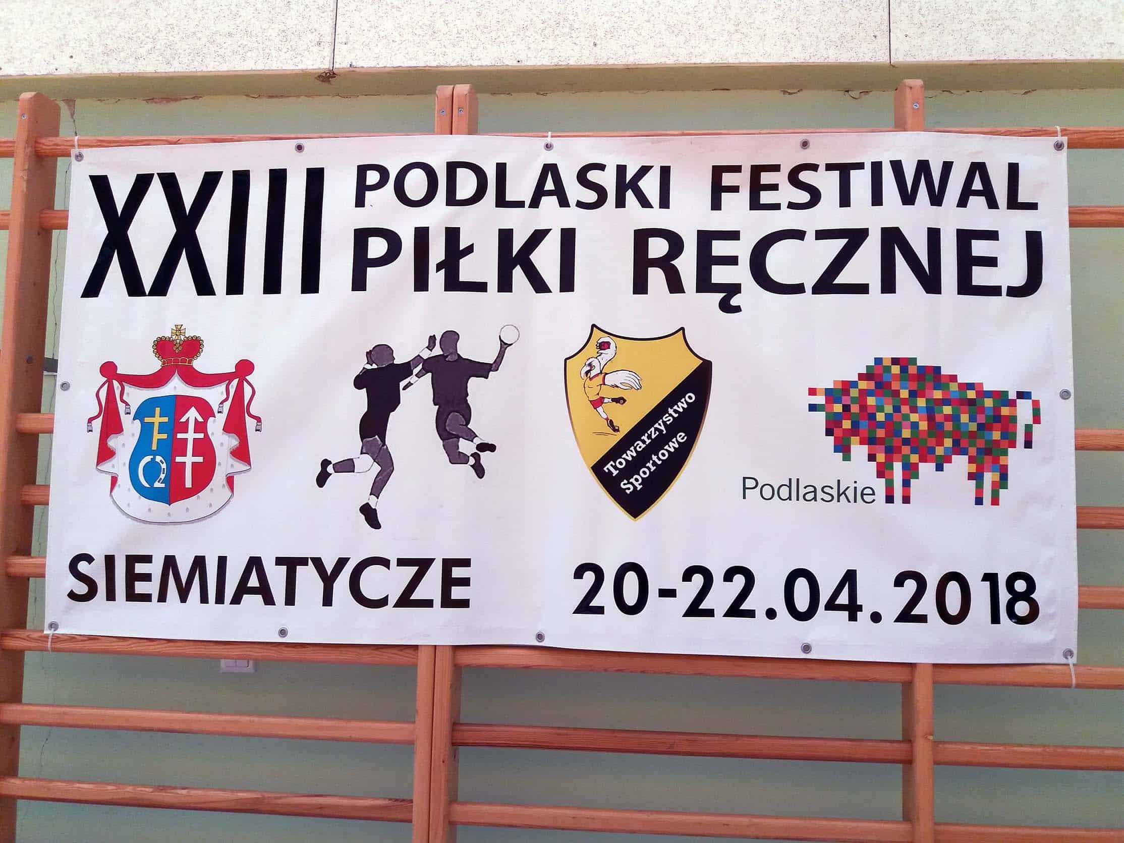 XXIII Podlaski Festiwal Piłki Ręcznej